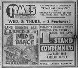 TIMES (VALENCIA) Theatre; Waukegan, Illinois (1938)
