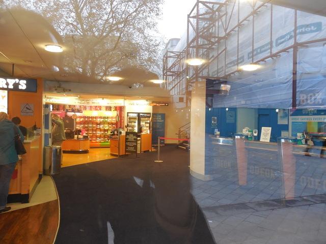 Nov 2, 2014 lobby from outside