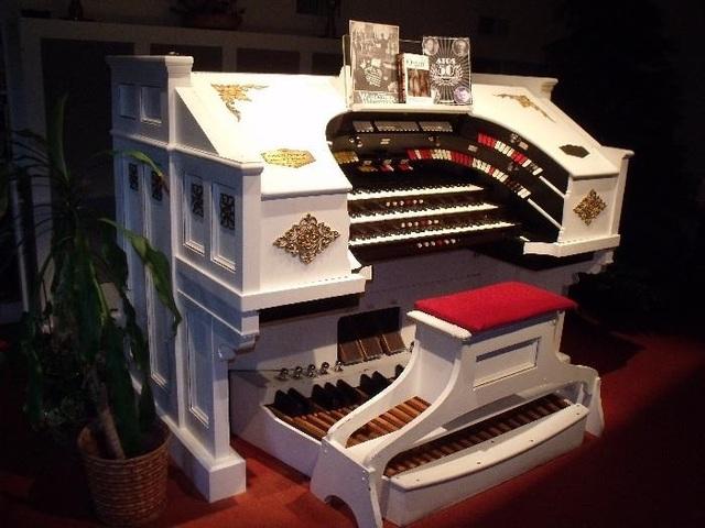 Our new 3/13 Robert Morton pipe organ