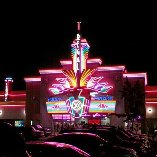 regal movie theater 20