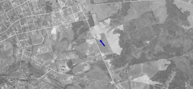 Aerial photo from 1951
