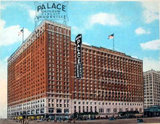 PALACE (CADILLAC PALACE, BISMARCK) Theatre; Chicago, Illinois.