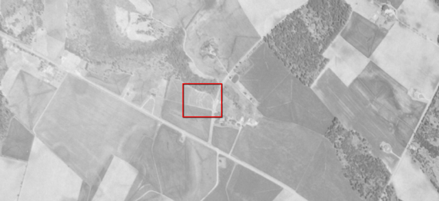 Aerial photo from 1957
