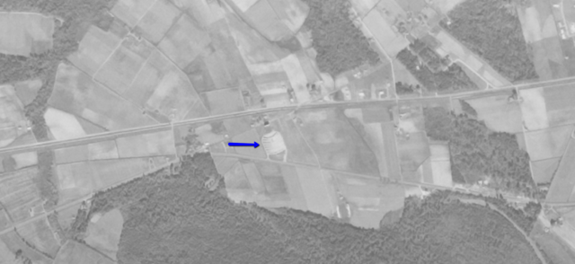 Aerial photo from 1958