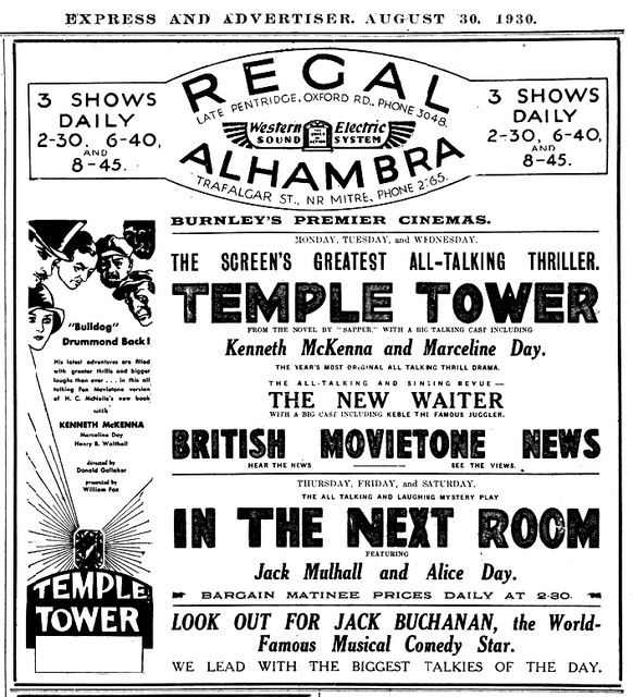 Alhambra Picture Theatre