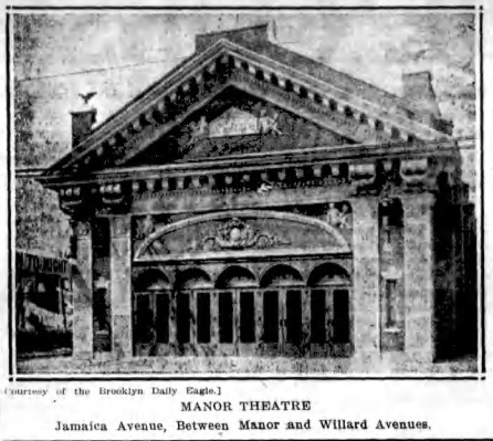 Newspaper image of theatre