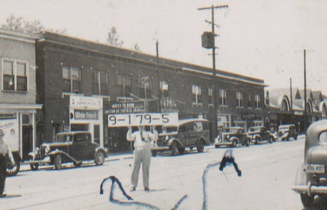 1940 tax assessor photo of Central Theater, 3311 E. 31st Street.