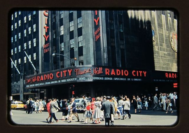 NYC Radio City Music Hall 1956