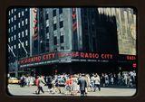NYC Radio City Music Hall 1956