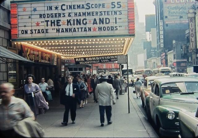 NYC Roxy Theatre 1956
