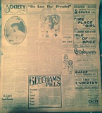 From The Saturday Evening, November 9th, 1907 Denver Times