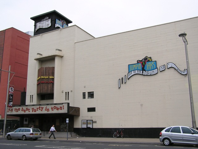 The Odeon Middlesbrough as Jumpin Jaks in June 2006