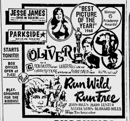 OLIVER! and RUN WILD RUN FREE  Mark Lester