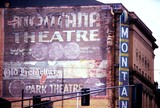 <p>On the West side of Montana Street looking Northwest.  There was a large balcony.  Great theater, closed in the 70's.</p>