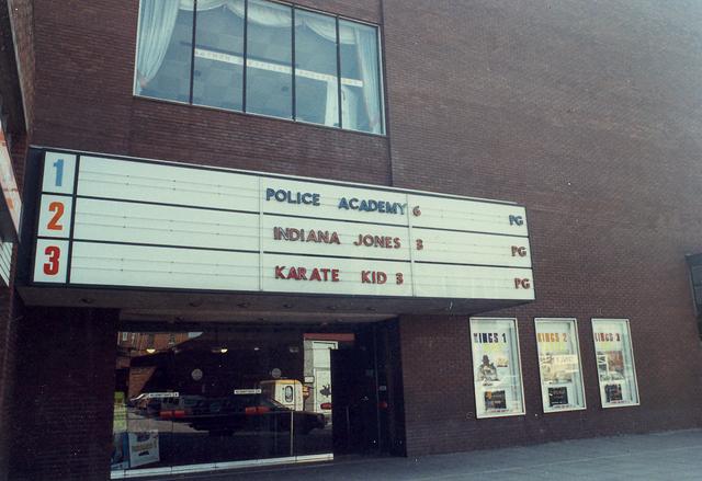Front of Kings Cinema 1989
