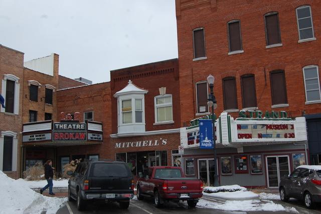 Brokaw 1 & 2 Theatre