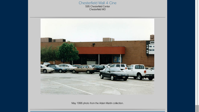 Chesterfield Mall 4 Cine'