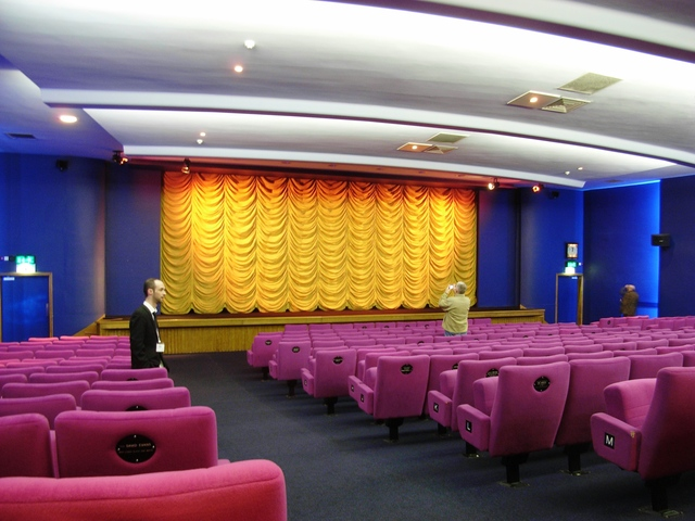 A screen at the Broadway Nottingham in May 2008