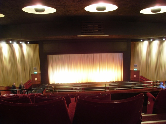 The main screen at the Savoy Nottingham in May 2008