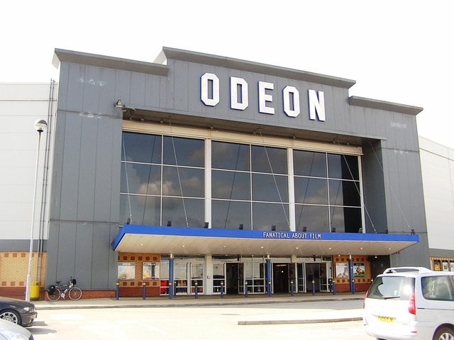 The Odeon multiplex Mansfield in September 2006
