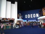 The foyer of the Odeon multiplex Mansfield in September 2006