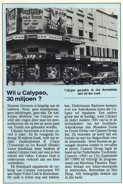 Calypso Cinema in Antwerp, BE - Cinema Treasures