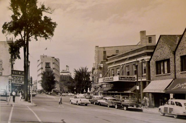 1958 photo courtesy of Pete Miller's Seafood & Prime Steak.
