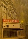 Vacant Valencia painting, artist unknown. Image courtesy of Pete Miller's Seafood & Prime Steak.