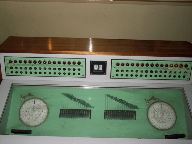 The cinemation console at the Odeon Headrow Leeds