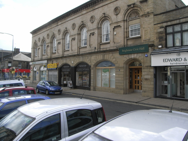 The Civic Hall Brighouse in September 2010
