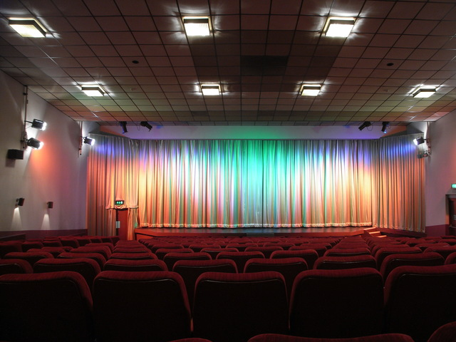 The downstairs screen at The Picture House Keighley in April 2010