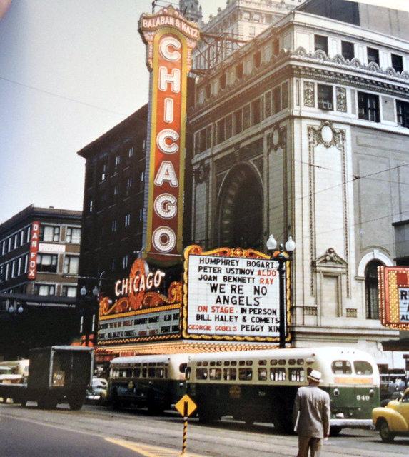 CHICAGO Theatre; Chicago, Illinois.