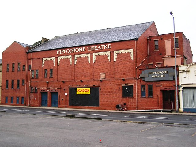 The Hippodrome Todmorden in January 2006