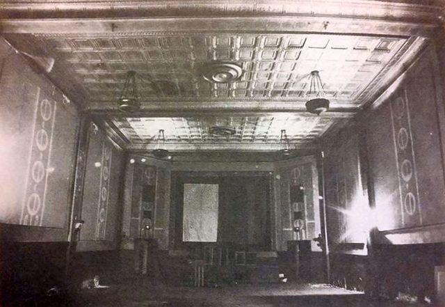 Stripped Interior