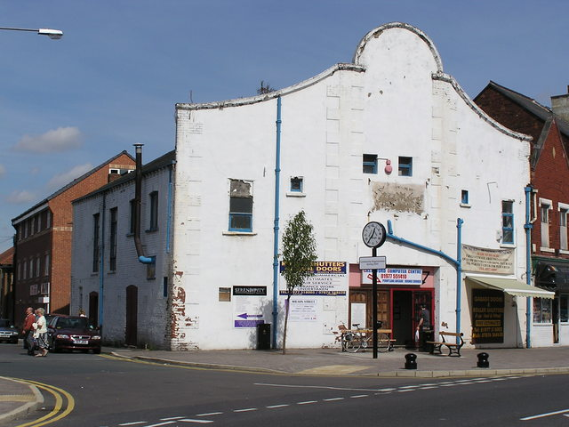The old Albion in Castleford in August 2005