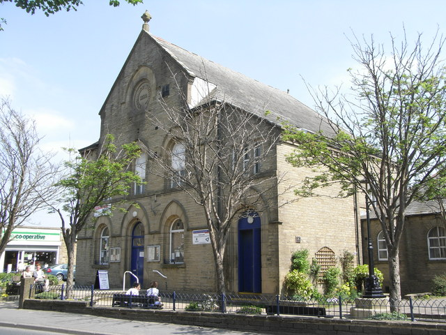 The Mechanics Hall, Denholme in June 2010