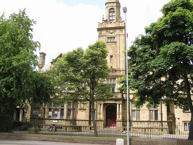 The Victoria Hall, Queensbury, Bradford in June 2005