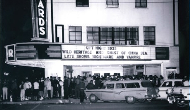 Richards Theatre, circa 1958