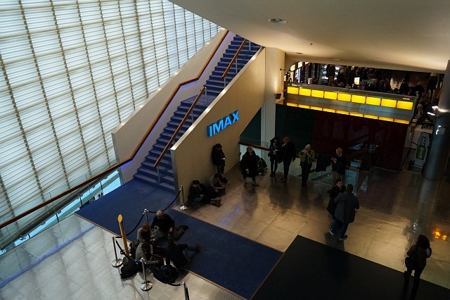 Stairs to Imax