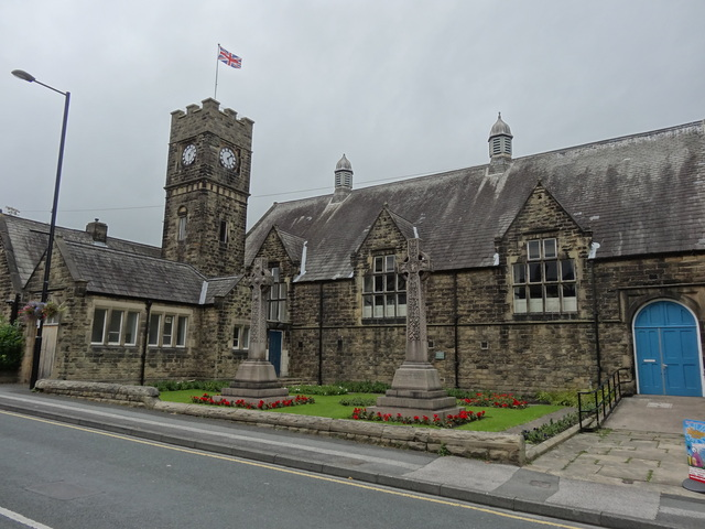 The Queens Hall [Lecture Hall] Burley in Wharfedale in September 2012