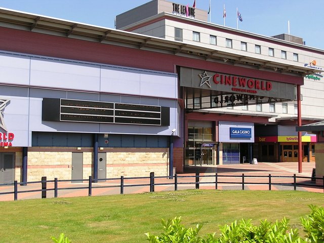 The Cineworld Bradford in June 2005