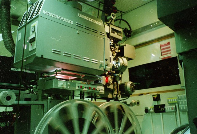 The main projector at PictureVille