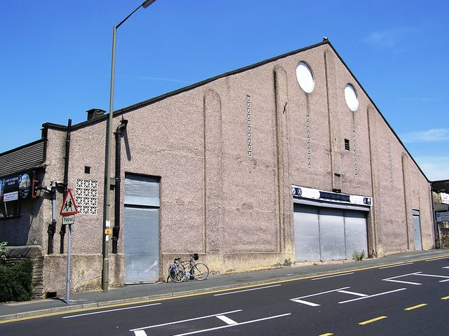 The Hippodrome/ Roxy Bradford as a Mosque in June 2005