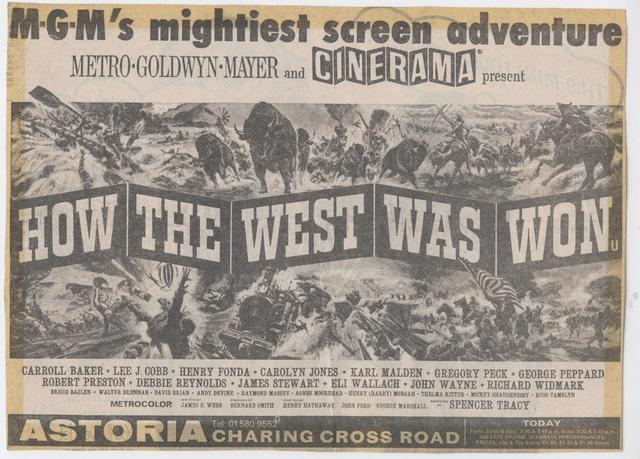 Astoria-How the West advert