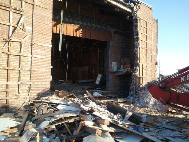 Elm Demolition Feb 2015