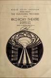 Opening program for Center Theater