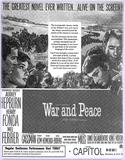 """War and Peace"" opens at the Capitol in 1956"