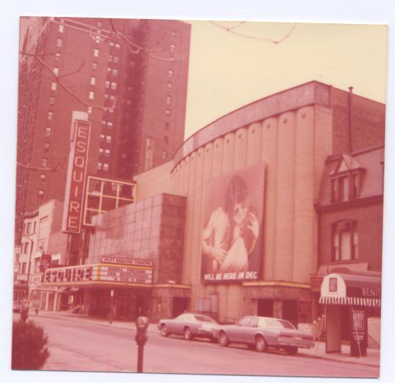 Esquire Theatre 1976
