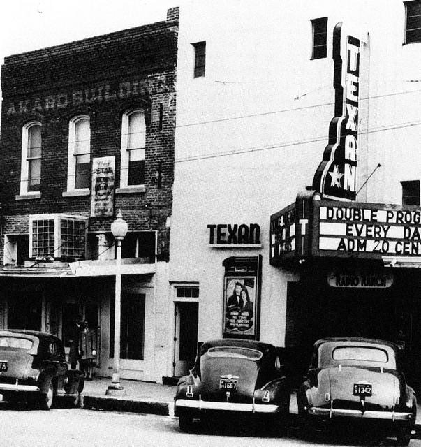 texan theater 1940s cinema treasures