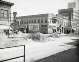 Villard Street in 1960 with Dickinson Theatre